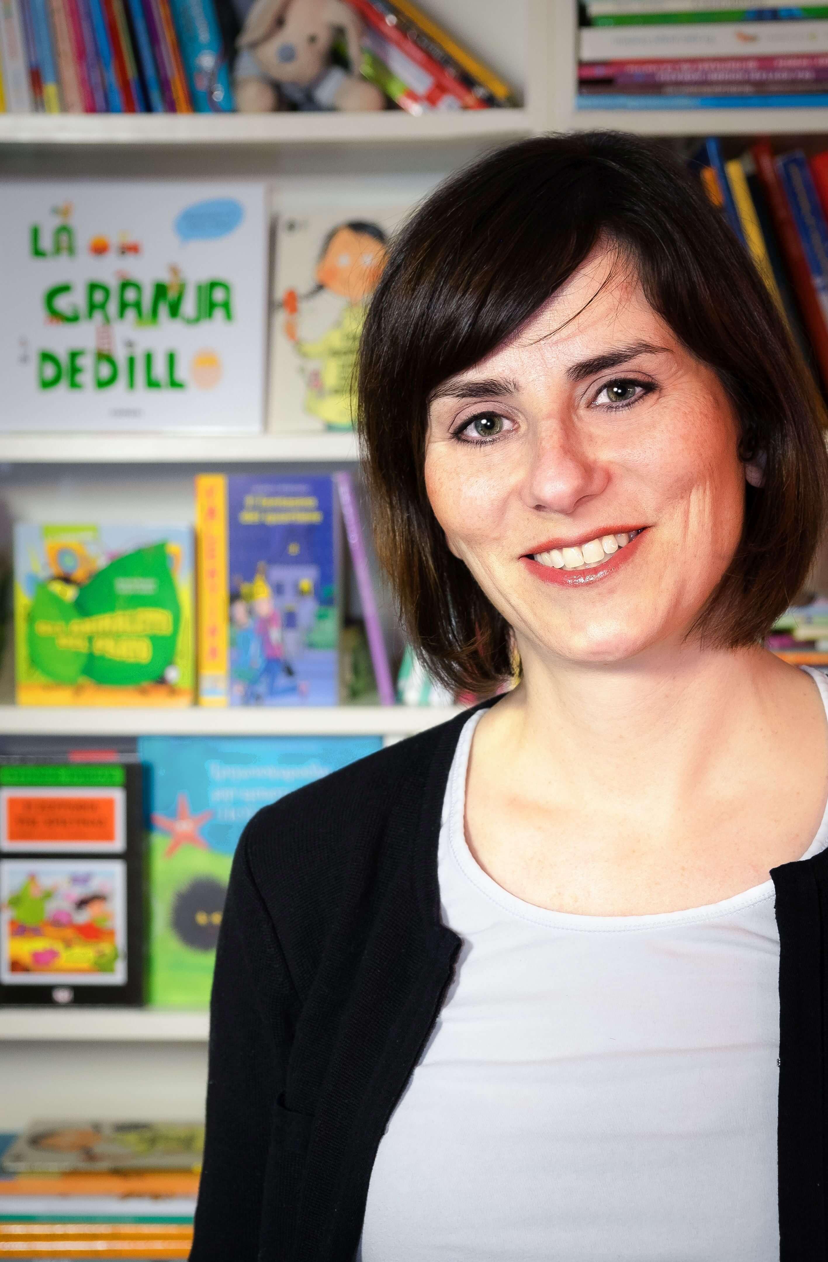 Aspasia Ouliou_die Inhaberin von Bibliomagia Foto