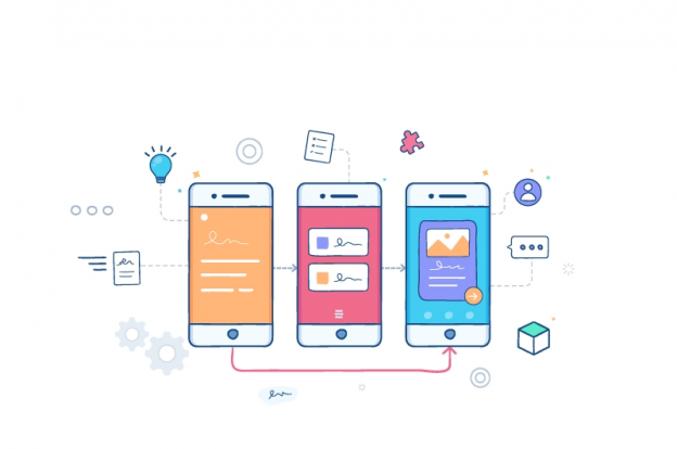 Rapid prototyping in mobile app design